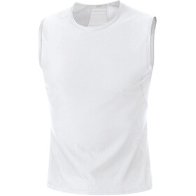 GORE WEAR M Base Layer Sleevless Shirt Men white